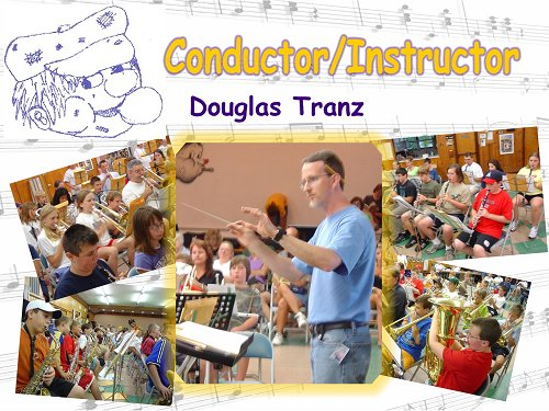 Mr. Tranz Leading Summer Youth Band